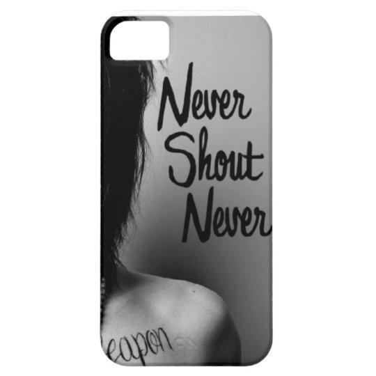 nevershoutnever iphone