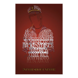 Never Shout Never Lost At Sea Poster