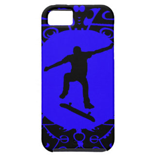 NEVER SKATE BLUES iPhone SE/5/5s CASE