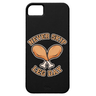 Never Skip Leg Day - Chicken Drumstick - Funny iPhone SE/5/5s Case