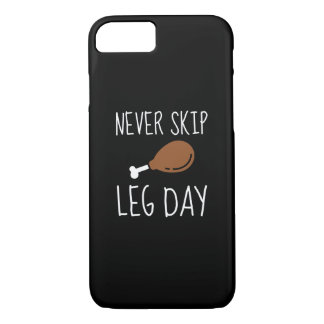 Never Skip Leg Day iPhone 8/7 Case