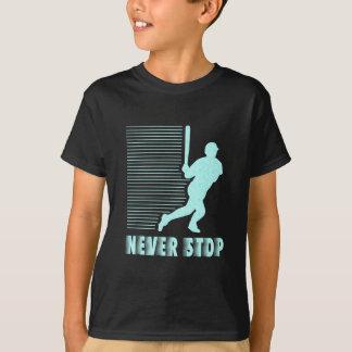 Never Stop: Baseball T-Shirt