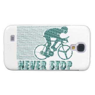 Never Stop: Cycling Samsung Galaxy S4 Cases