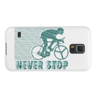 Never Stop: Cycling Case For Galaxy S5