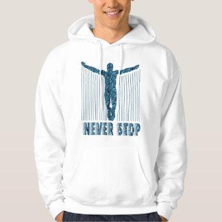 Never Stop: Diver Hoodie