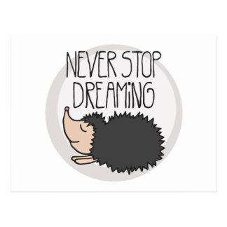 Never Stop Dreaming Postcard