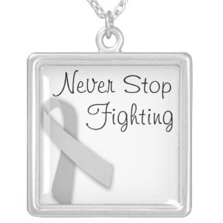 Never Stop Fighting Necklace