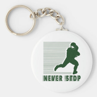 Never Stop: Football Keychains