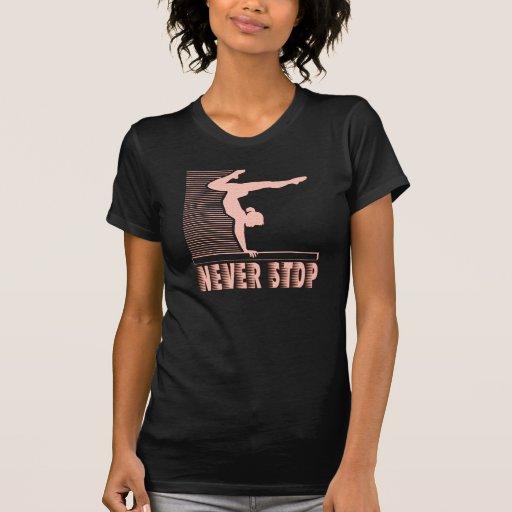 Never Stop: Gymnastics Tshirt