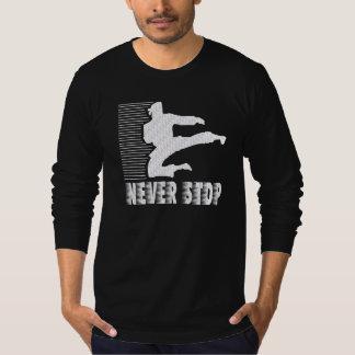 Never Stop: Martial Arts T-Shirt