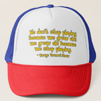 Never Stop Playing Trucker Hat