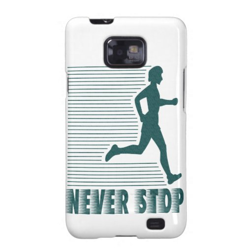 Never Stop: Running Galaxy SII Cases