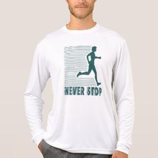Never Stop: Running T-Shirt