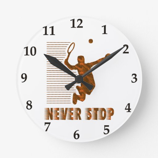 Never Stop: Tennis Clock
