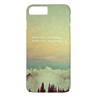 Never Stop Wondering iPhone 7 Plus Case