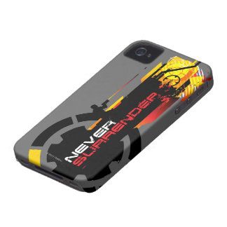 Never Surrender iPhone 4 Cover
