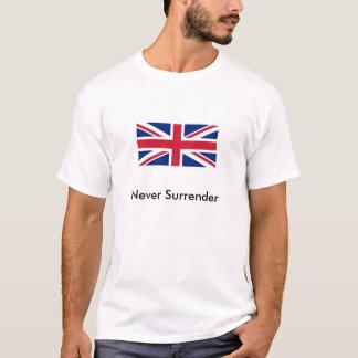 Never Surrender - Union Jack T-Shirt
