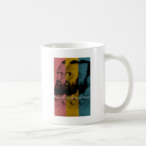 Never Take Counsel of Your Fears Classic White Coffee Mug