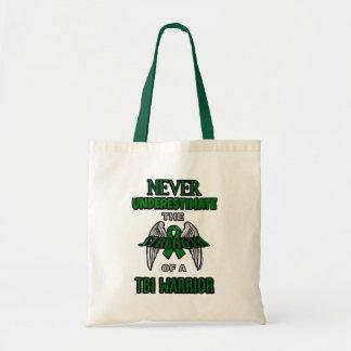 Never...TBI Tote Bag