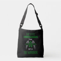 Never...TBI Warrior Crossbody Bag