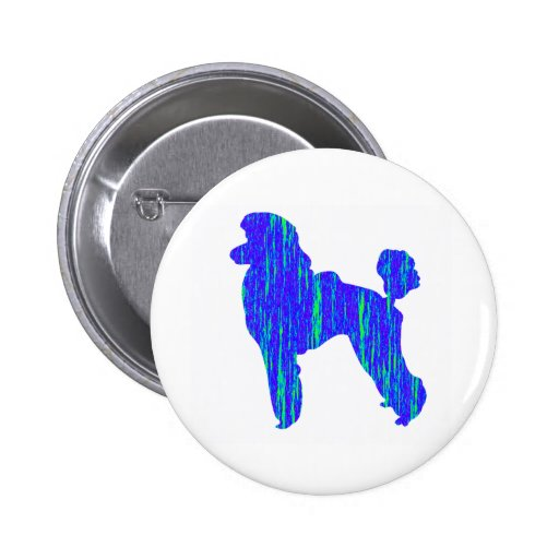Never the Blues 2 Inch Round Button