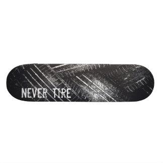 Never Tire Skateboard Deck