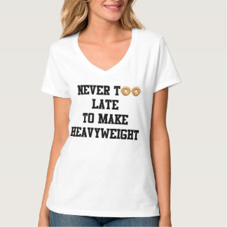 Never to Late to Make Heavyweight T-Shirt