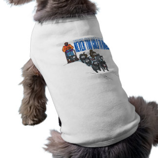Never Too Cold To Race 2 Dog T-shirt