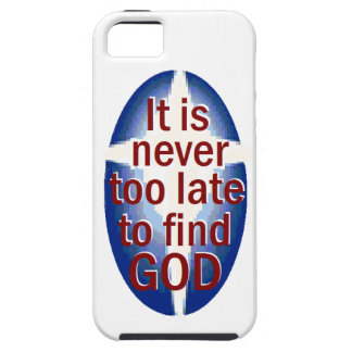 Never Too Late iPhone SE/5/5s Case
