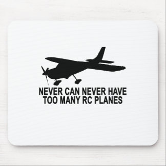 Never Too Many RC Planes T-Shirt.png Mouse Pad