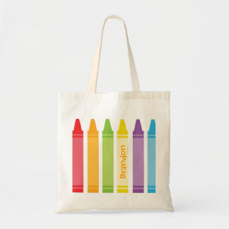 Never Too Old For Crayons Budget Tote Bag
