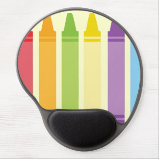 Never Too Old For Crayons Gel Mouse Pads