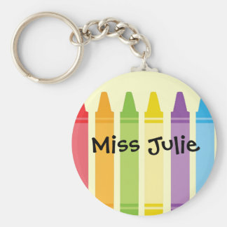Never Too Old For Crayons Keychains