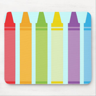 Never Too Old For Crayons Mouse Pad