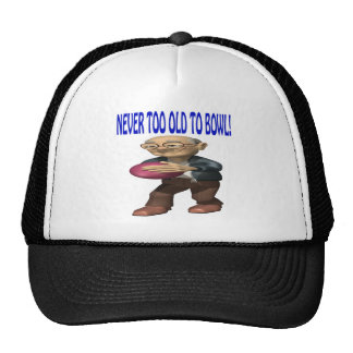 Never Too Old To Bowl Trucker Hat