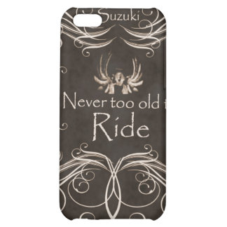 Never too old to ride iPhone 5C cases