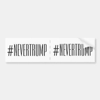 never trump 2 bumper stickers