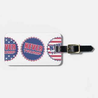 never trump bag tag