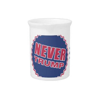 never trump drink pitcher