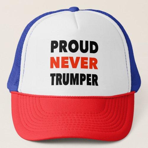 Never Trumper  Trucker Hat