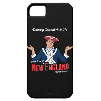 Never Trust a New England Runningback! iPhone SE/5/5s Case