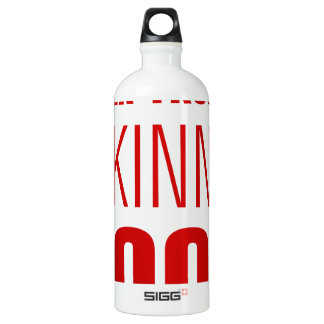 never-trust-a-skinny-cook-AKZ-BROWN.png Water Bottle