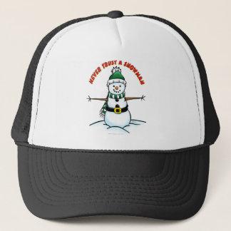Never trust a Snowman Trucker Hat