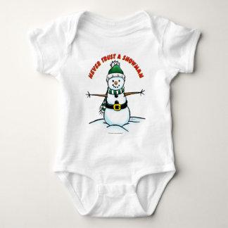 Never Trust a Snowman Tshirts