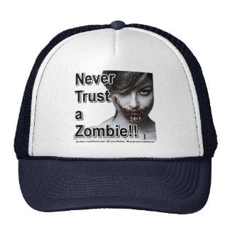 Never Trust a Zombie Trucker Hat