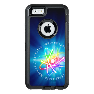 Never Trust an Atom | Funny Science Gifts OtterBox Defender iPhone Case