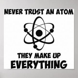 Never Trust An Atom Print