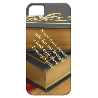 Never trust anyone who has not brought a book iPhone SE/5/5s case