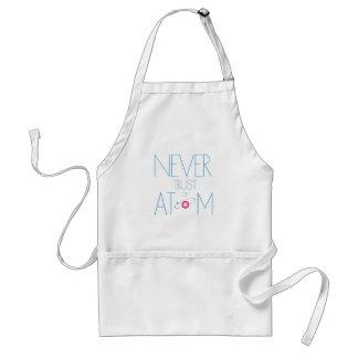 Never trust atom adult apron