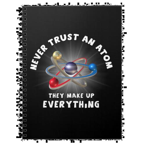 Never trust atom notebook